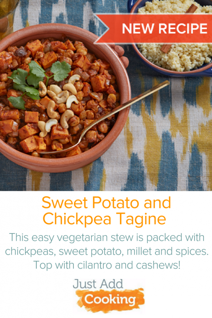 This quick and easy vegetarian dinner is inspired by the ..