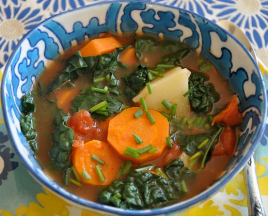 This soup was developed primarily to relieve acid reflux ..