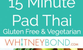 This Spicy Vegetable Pad Thai Recipe Is Easy To Make In ..