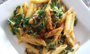 This Vegan Spicy Creamy Kale Pasta Is Made Out Of All Good ..