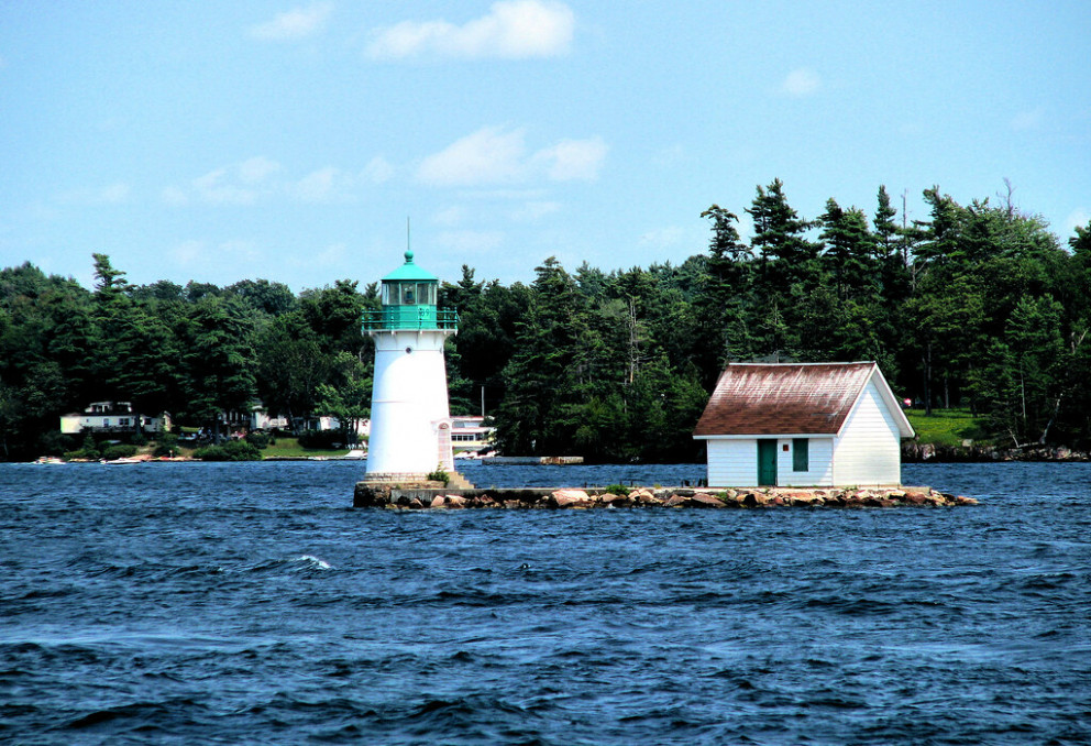 Thousand Island Lighthouse - recipes dinner for one