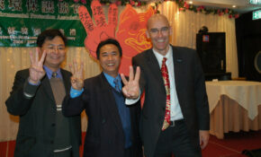 !/ Three Finger Sustainability Symbol shared at Gala Dinner_0282
