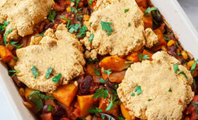 Three Sisters Casserole With Cornbread Topping – Recipes Vegetarian Casseroles