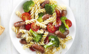 'Tiny Tree' And Sausage Pasta – Healthy Recipes For Kids