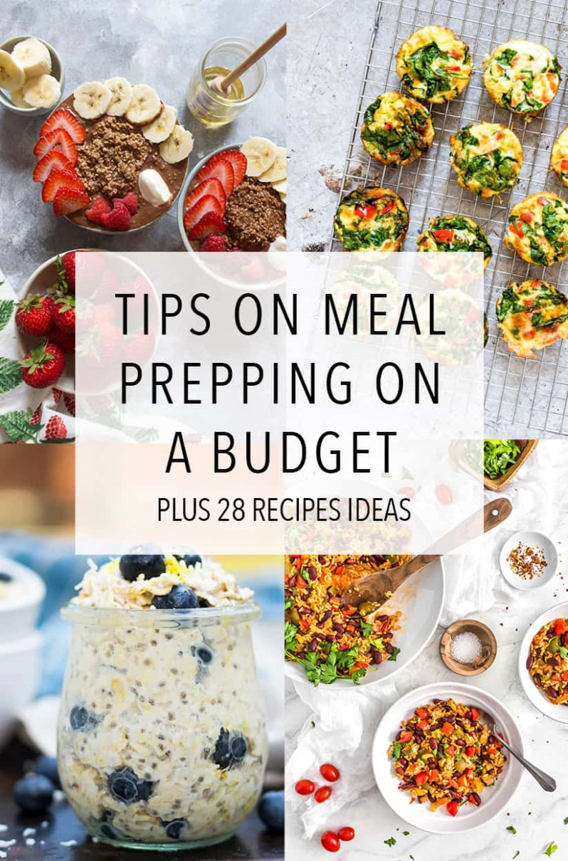 Tips For Meal Prepping On A Budget + 12 Recipes - Carmy ..