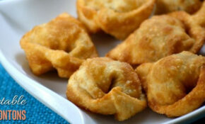 To make Fried Vegetable Wontons