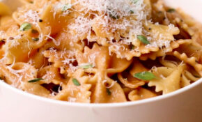 Toasted Farfalle With Thyme Sauce Pasta Recipe By Tasty – Farfalle Pasta Recipes Vegetarian