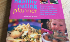 Toddler Healthy Eating Planner Book – Healthy Recipes Book
