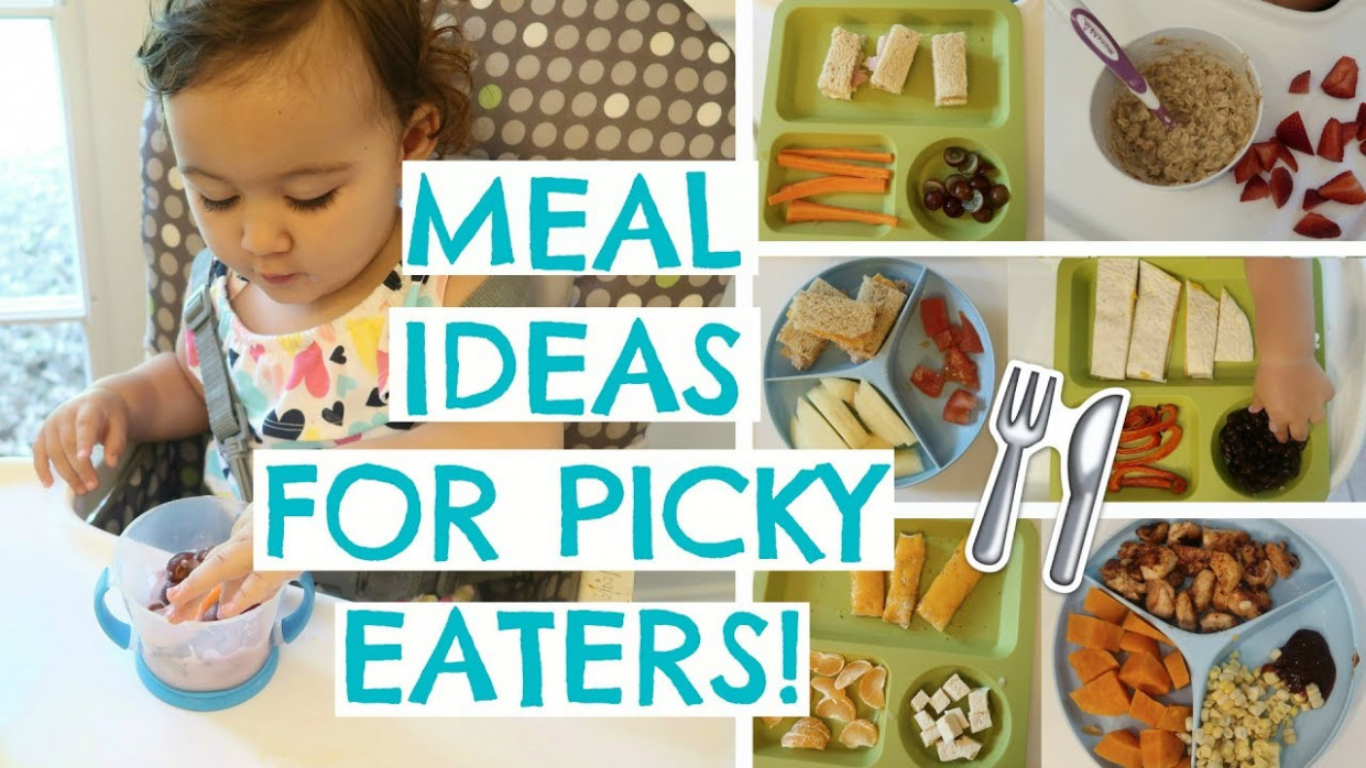 TODDLER MEALS FOR PICKY EATERS | TODDLER MEAL IDEAS | Hayley Paige - food recipes for toddlers