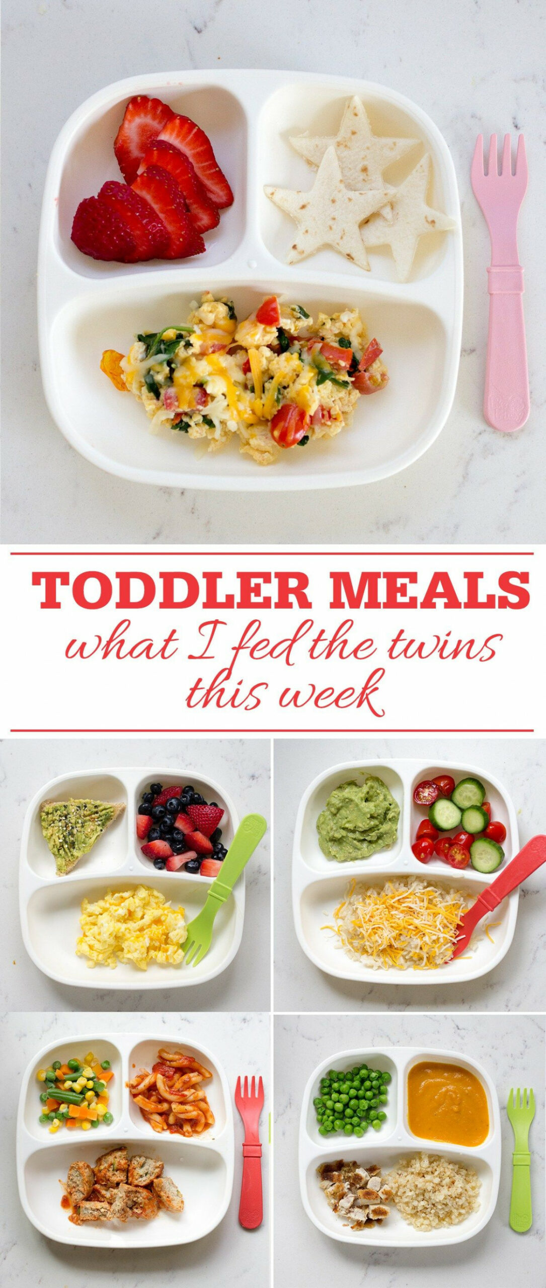 Toddler Meals What I Fed The Twins This Week | Baby Food ..