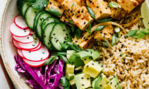 TOFU POKE BOWL (VEGAN + EASY) – Tofu Vegan Recipes Dinner