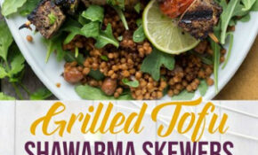 Tofu Shawarma Skewers – Vegan Recipes Dinner Quick