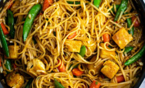 Tofu Stir Fry Noodles – Build Your Bite – Vegetarian Chinese Food Recipes