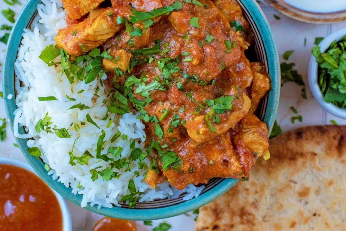 Tomato and Garlic Chicken Curry - recipes of chicken curry