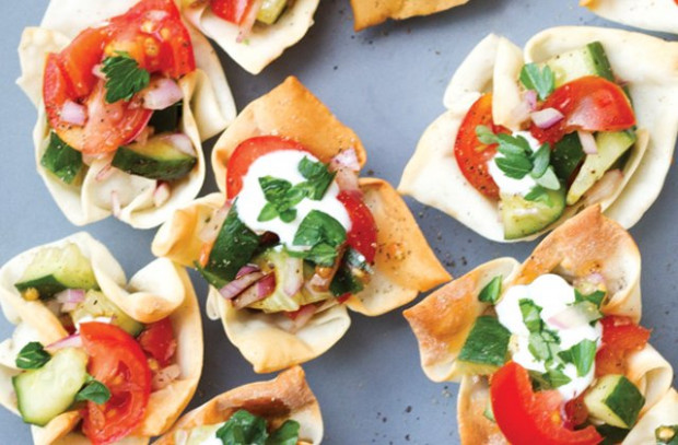 Tomato And Herb Wontons Recipe | Healthy Party Snacks ..