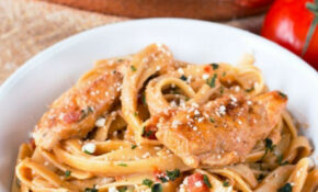 Tomato Basil Chicken Pasta – Chicken Recipes With Pasta