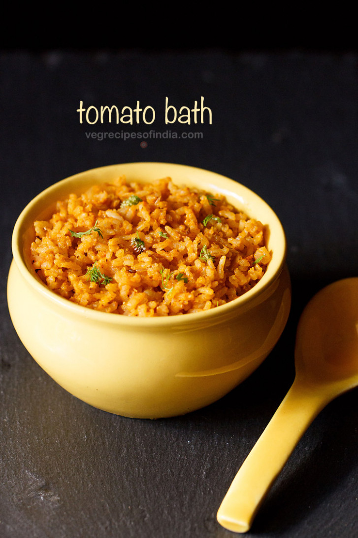 Tomato Bath - chicken recipes kannada