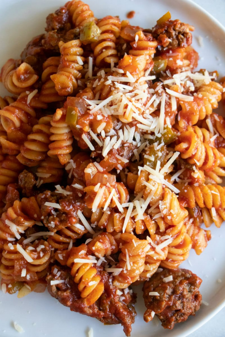 Tomato Beef Pasta - recipes dinner beef