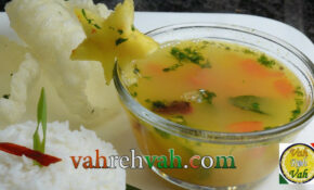 Tomato Pineapple Rasam – Vahchef Recipes Vegetarian