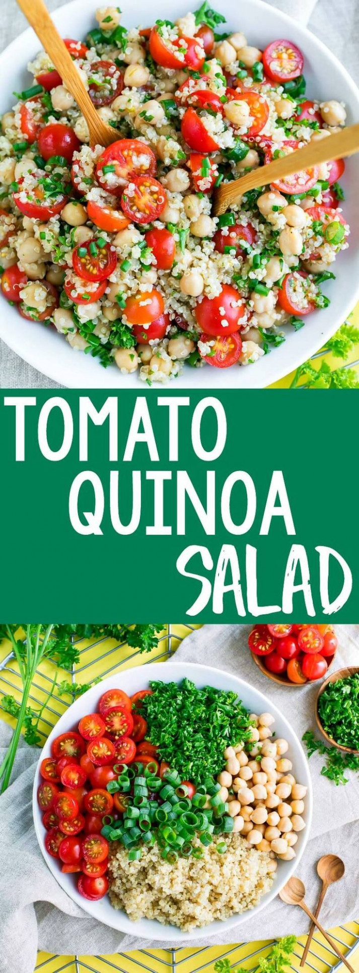 Tomato Quinoa Salad - healthy recipes quinoa salad