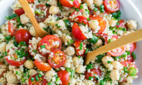 Tomato Quinoa Salad – Quinoa Dinner Recipes Vegetarian