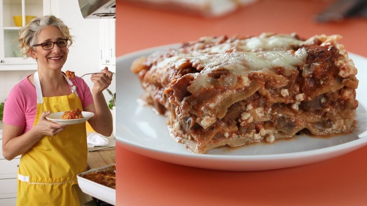 Tomato Sausage Lasagna  Everyday Food With Sarah Carey ..