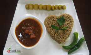 قلاية بندورة وفريكة  Tomato With Minced Meat And Frike – Recipes Minced Meat Healthy