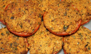 Tomatoes, Cooked, Eat, Breadcrumbs – Healthy Recipes Book