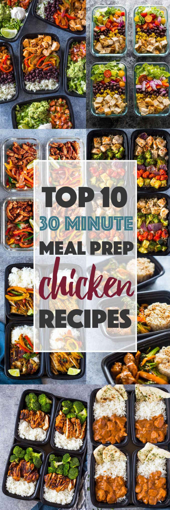 Top 10 (10 Minute) Meal-prep Chicken Recipes | Gimme Delicious - dinner recipes quick healthy
