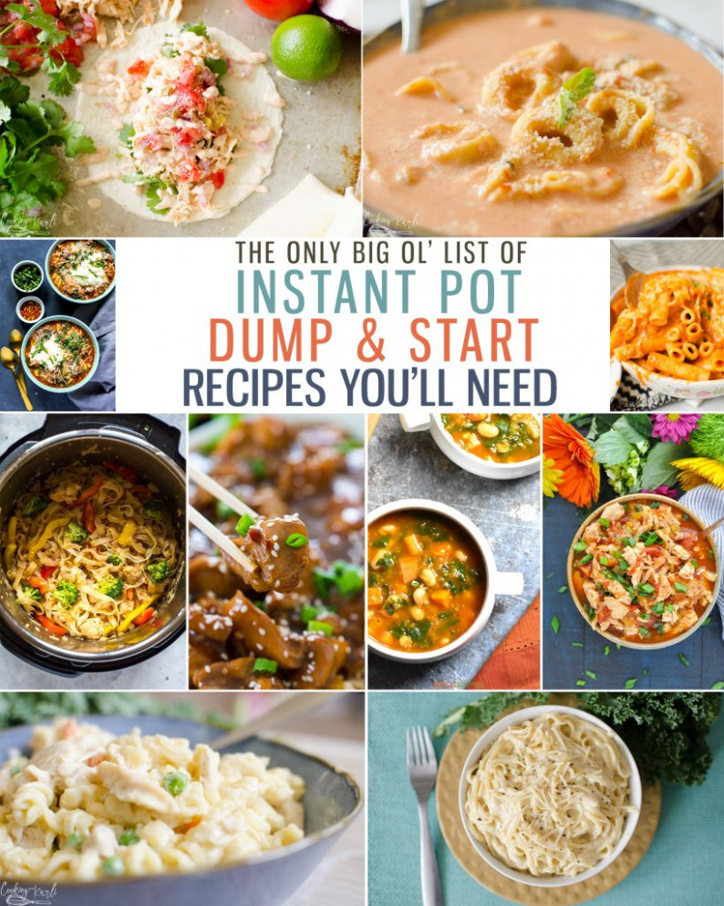 Top 11 Instant Pot Dump and Start Recipes - Cooking With Karli - best instant pot recipes vegetarian
