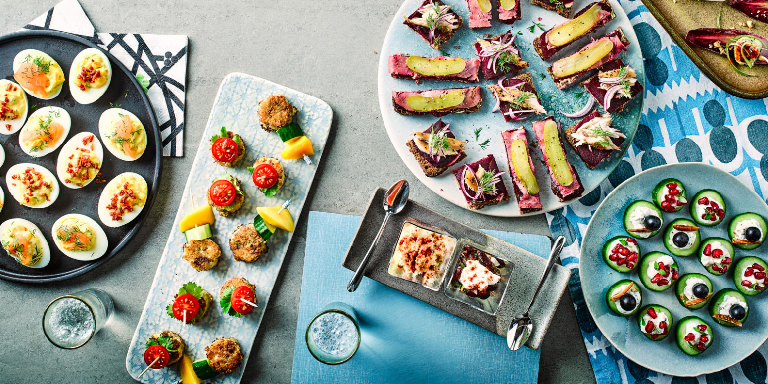 Top 13 Christmas canapés you can make ahead | BBC Good Food - easy finger food recipes to make ahead
