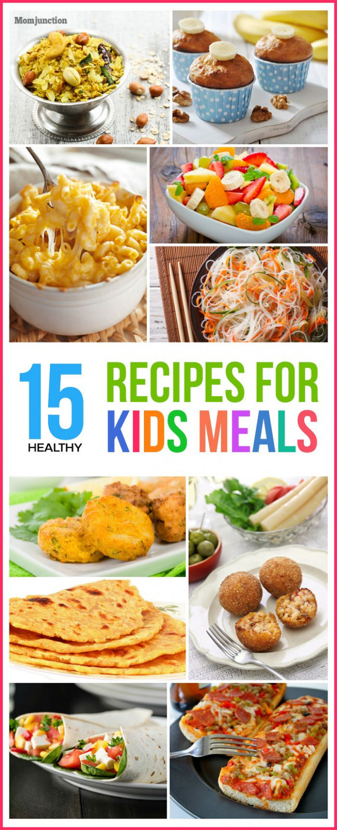 Top 14 Healthy Recipes For Kids' Meals | Favorite Recipes ..