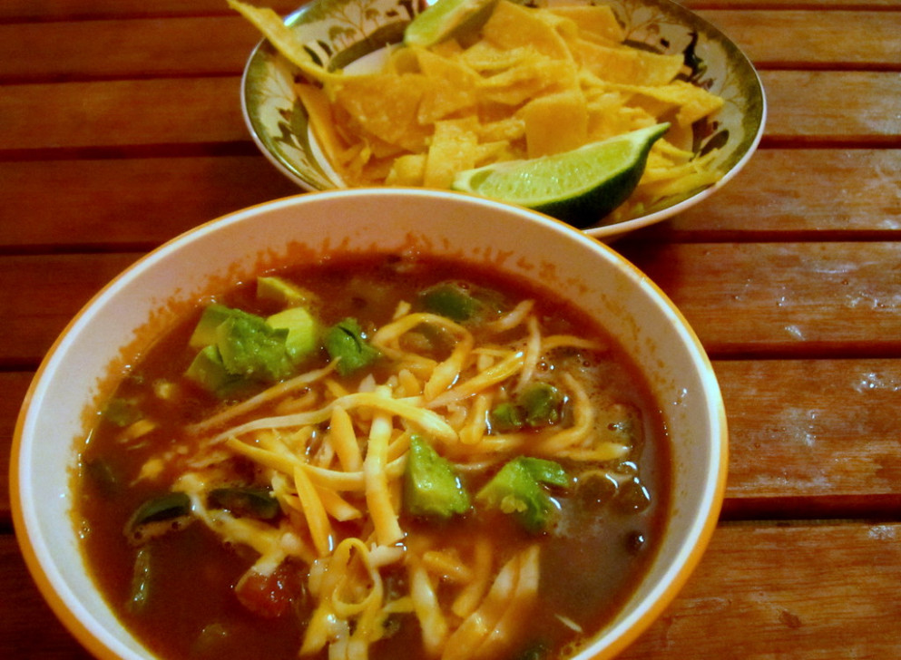 tortilla soup - avocado recipes chicken