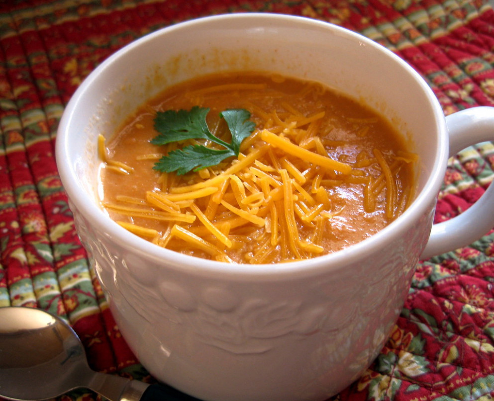 Tortilla Soup w/ Recipe - recipes you can make with shredded chicken