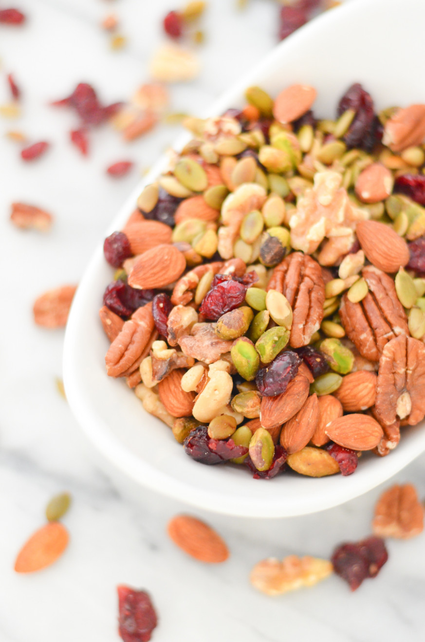 Trader Joe's Omega 3 Trail Mix Recipe | Luci's Morsels - Trader Joe's Vegetarian Recipes