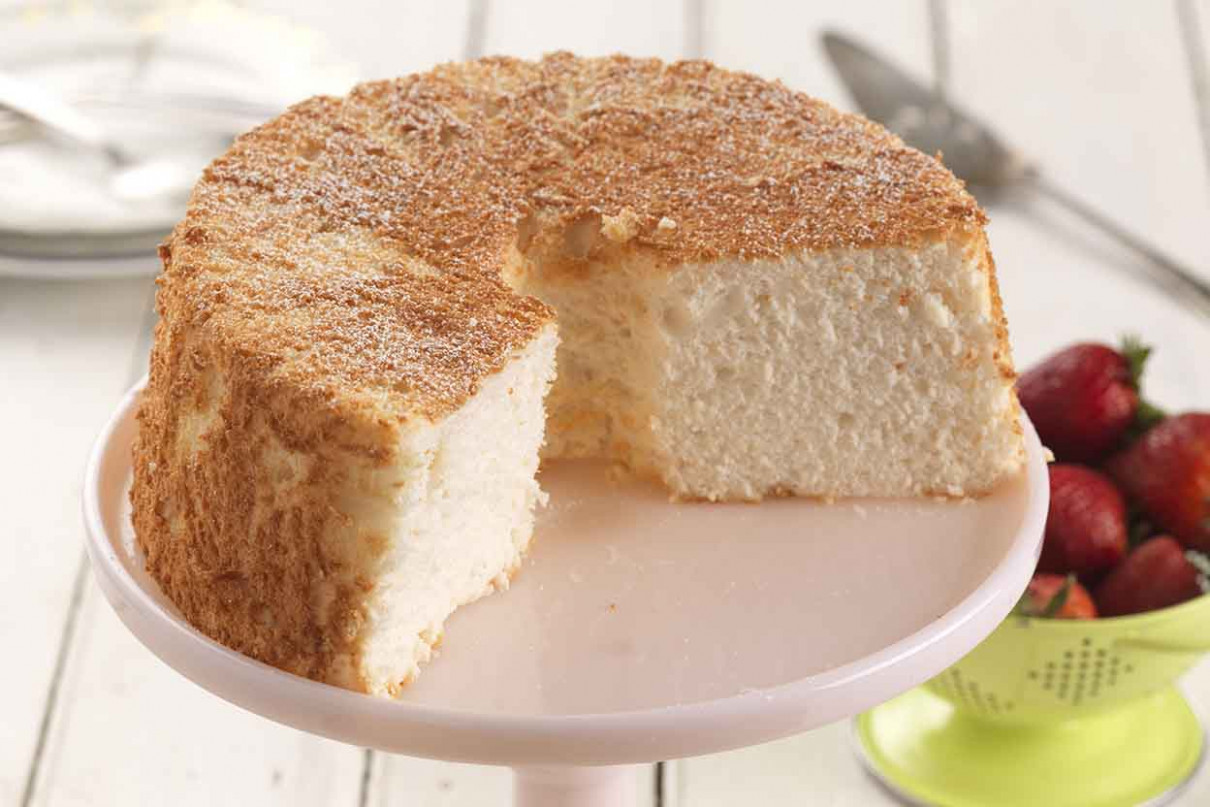 Traditional Angel Food Cake - recipes using angel food cake