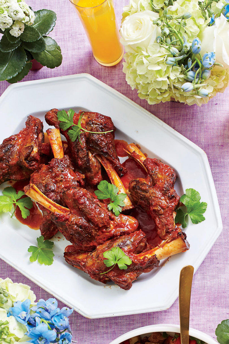 Traditional Easter Dinner Recipes - Southern Living - recipes lamb dinner