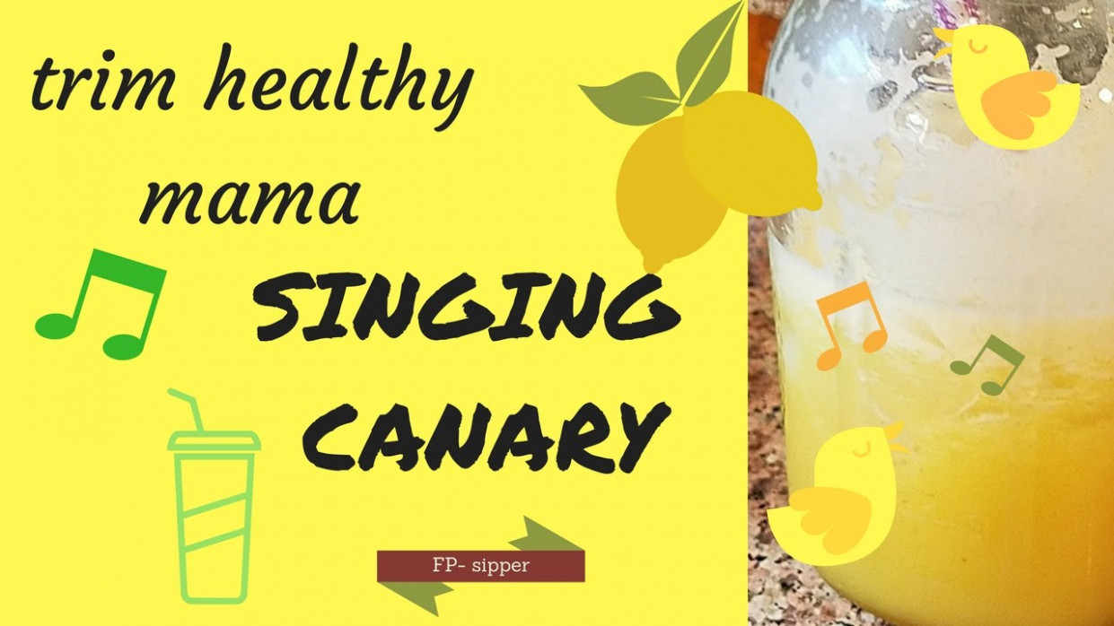 Trim Healthy Mama Recipe || Singing Canary || is it worth all the work? - trim healthy mama recipes