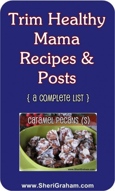 Trim Healthy Mama Recipes List | Thm recipes, Trim healthy ..
