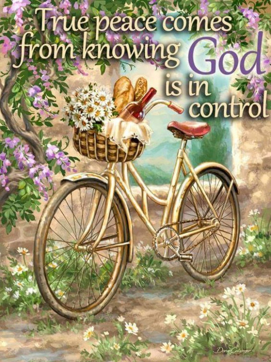 True Peace Comes From Knowing God Is In Control Pictures ..
