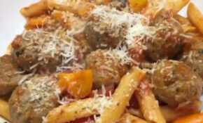 """Try My #leanin15 Meatballs And Pasta #"" 