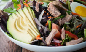 Tuna, Avocado And Spring Mix Salad – Healthy Recipes Salads