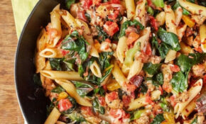 Turkey And Greens Skillet Pasta | Recipe | Weeknight Meals ..