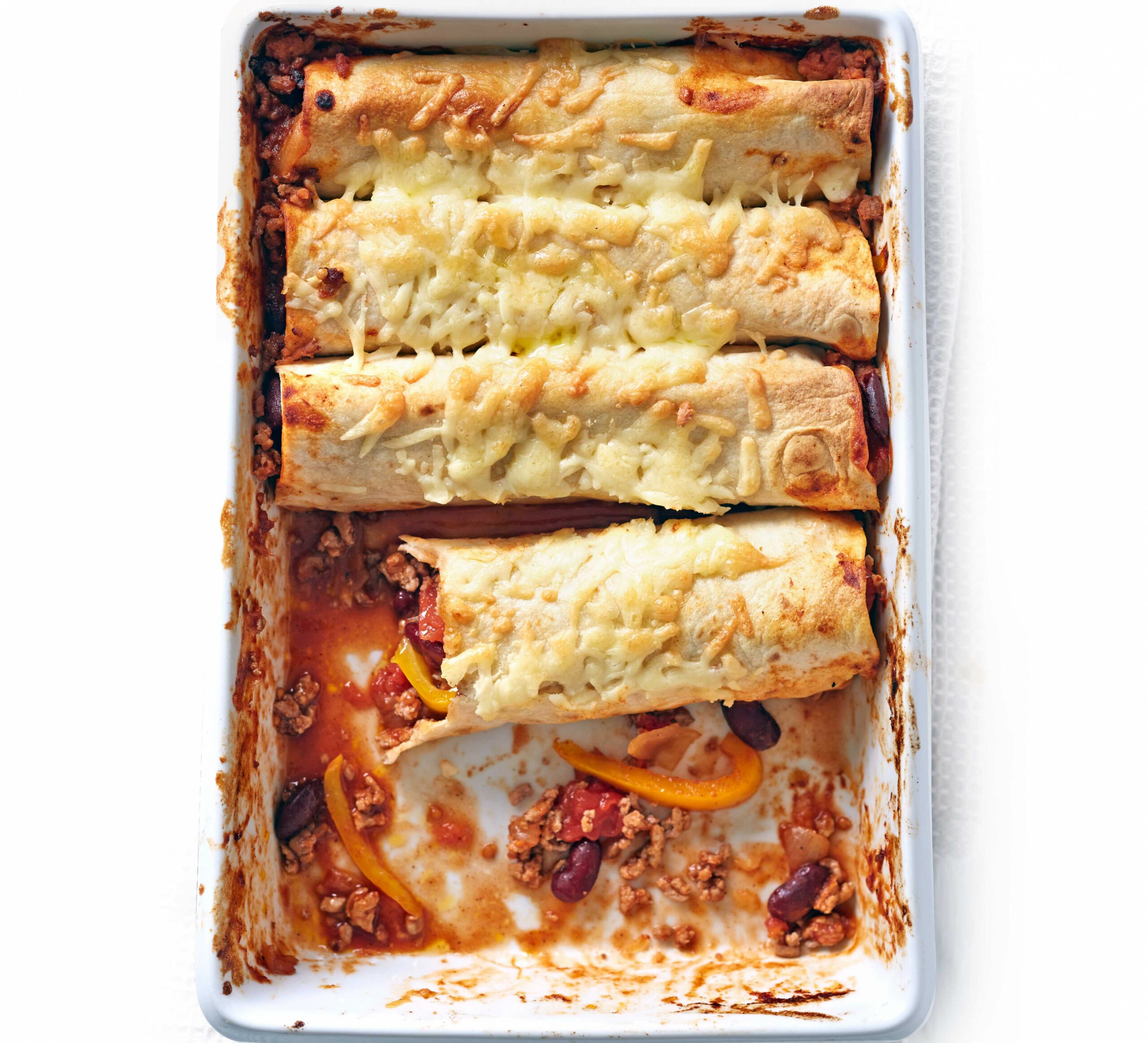 Turkey enchiladas - recipes minced meat healthy