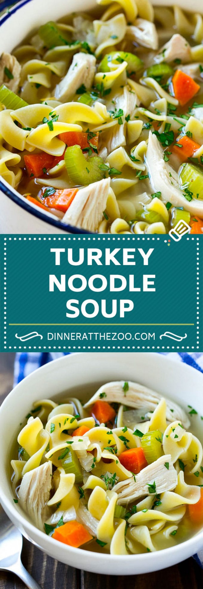 Turkey Noodle Soup - Food Recipes For Dinner