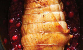 Turkey Roast With Cranberries | Ricardo – Chicken Recipes Ricardo