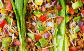 Turkey Taco Lettuce Wraps – Chicken Recipes To Lose Weight