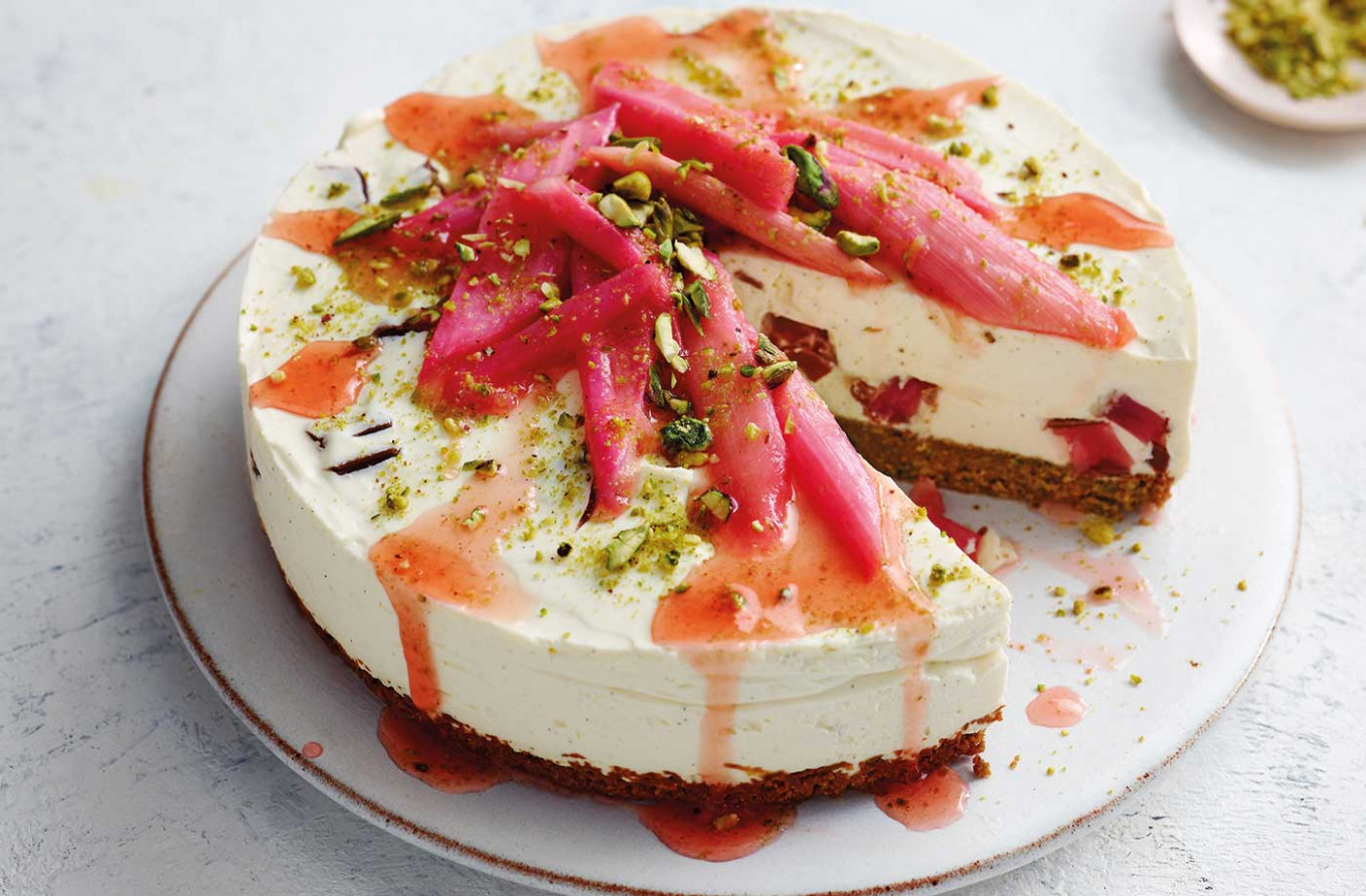 Turkish Delight Cheesecake - Turkish Food Recipes