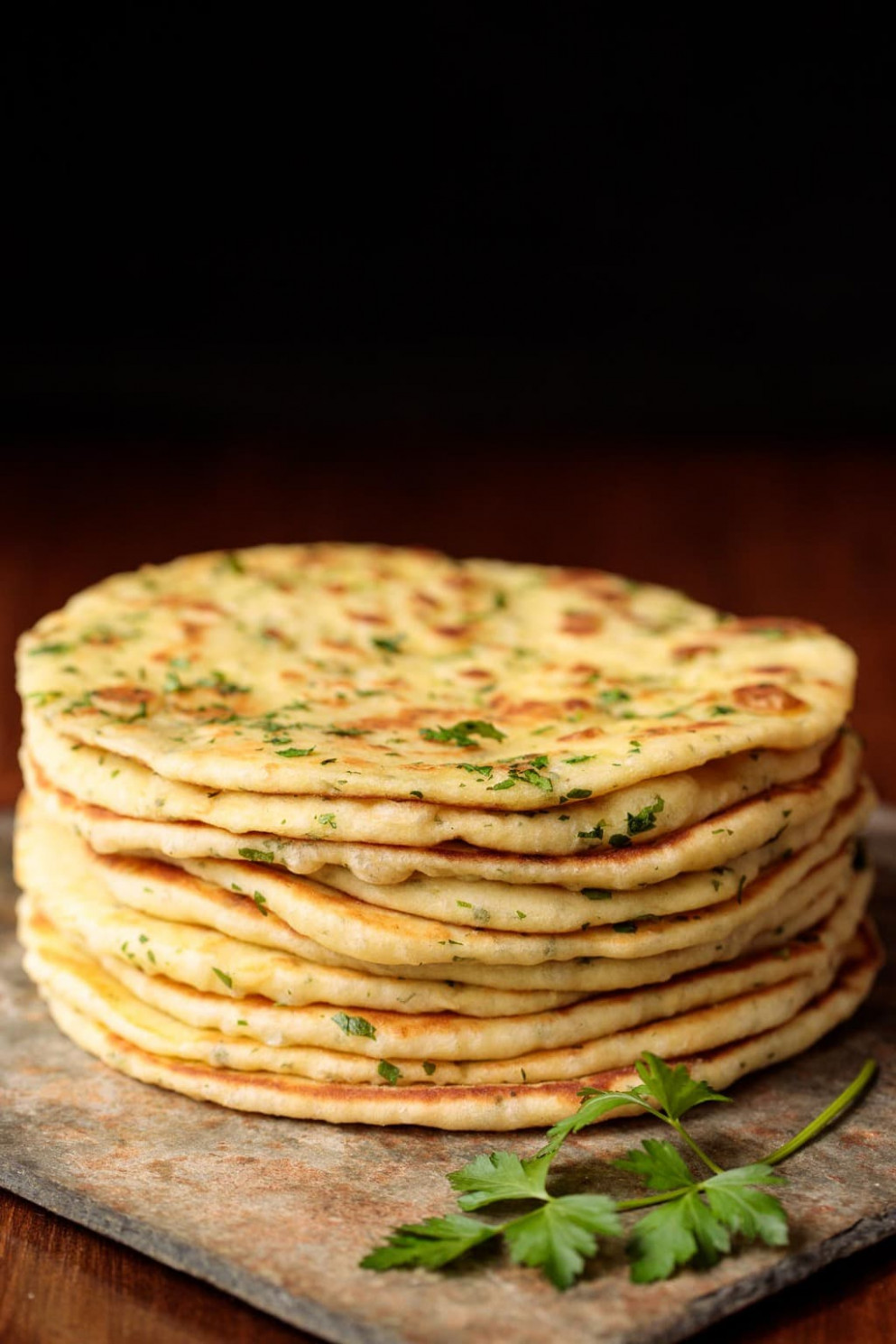 Turkish Flat Bread (Bazlama) - Greek Yogurt Recipes Dinner