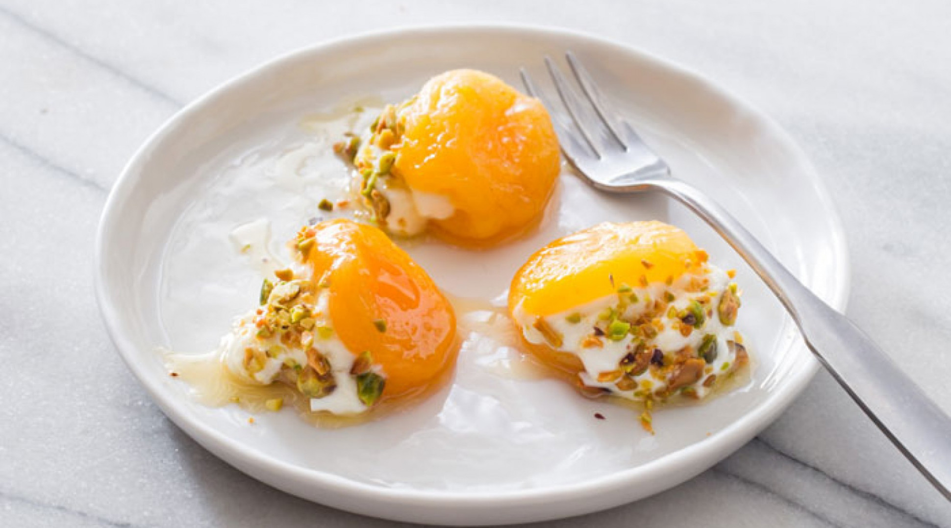 Turkish Stuffed Apricots with Rose Water and Pistachios - turkish food recipes